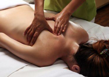 Так проходит массаж в студии Примавера
