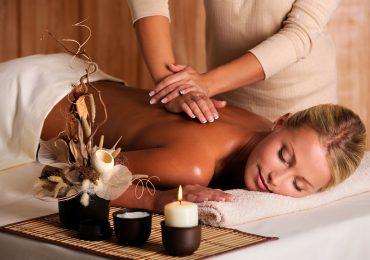 массаж с использованием аромамасел
